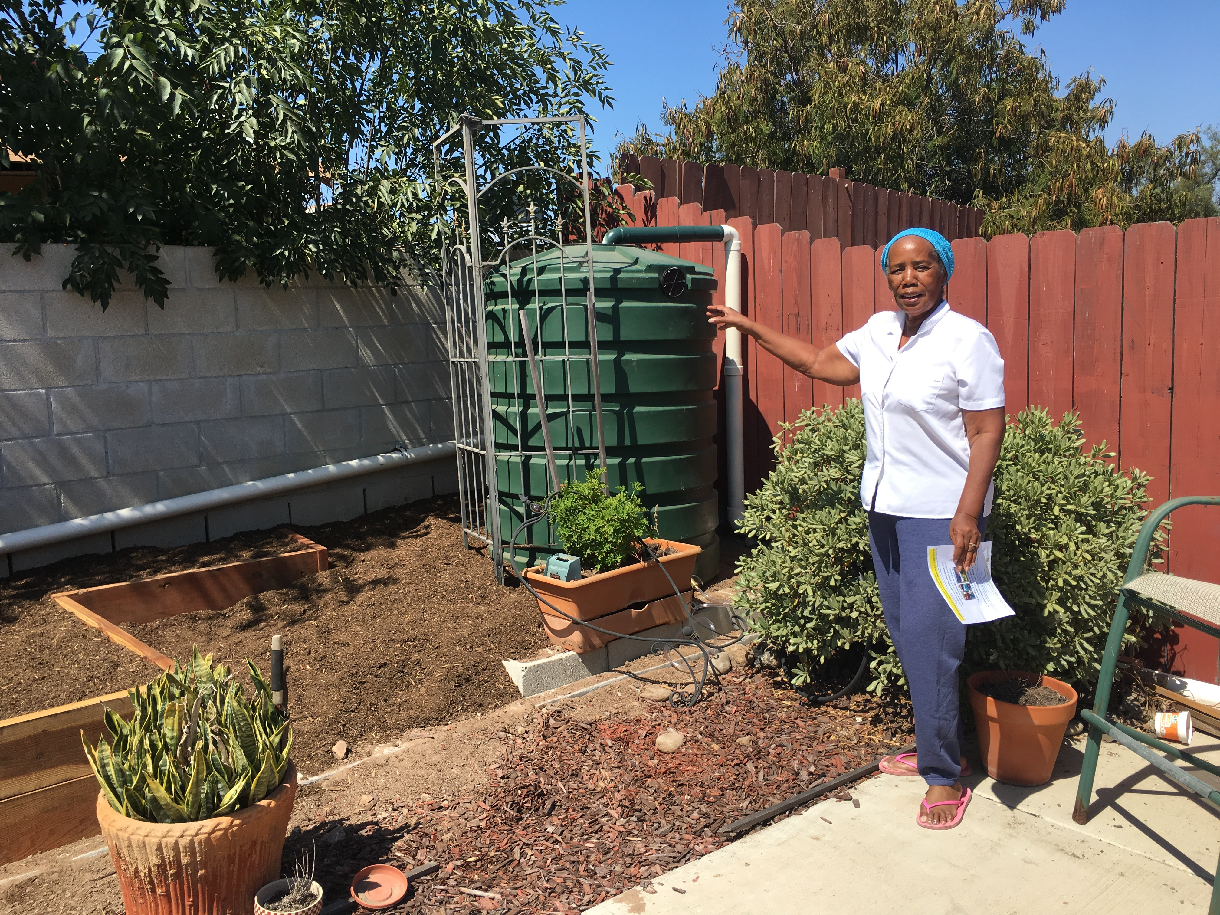 Home Makeover Amp Water Conservation Project Nominated For